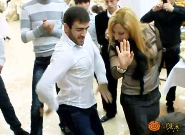 Танцор из кавказа