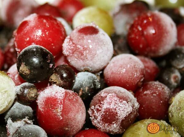 Летний набор замороженных фруктов