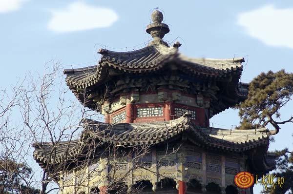 Китайский жилой дом