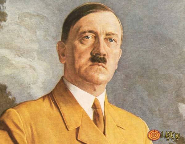 Портрет фашиста в цвете