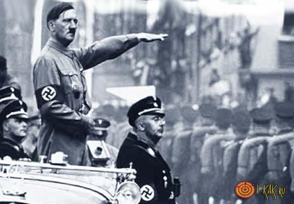 Гитлер едет к евреям