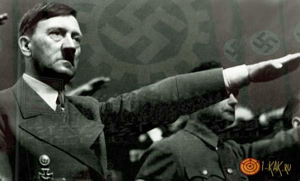 Еще молодой Гитлер