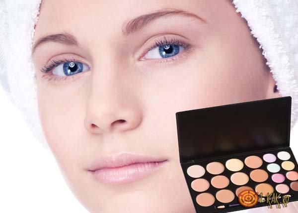 Палетка консилеров - для макияжа