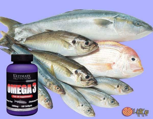 Морская рыба содержит эту кислоту