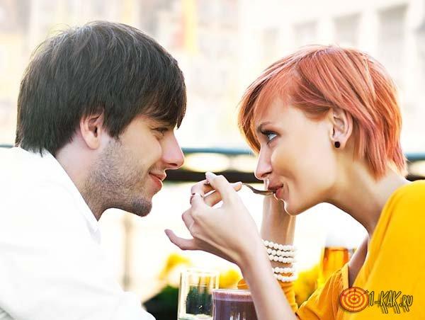 Поведение влюбленного в девушку
