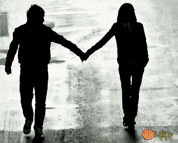 Настоящая любовь у пары