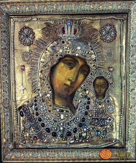 Историческая Икона Матери Божьей