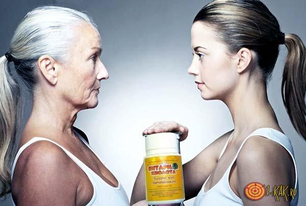Помощь янтарной кислоты при старении