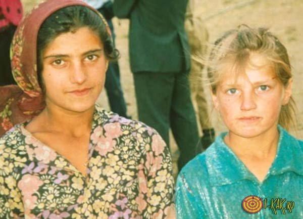 Мать и сын - народы Индии