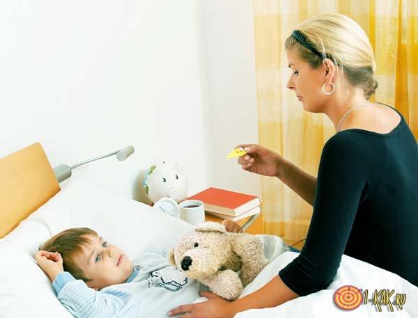 Симптомы заболевания у мальчика