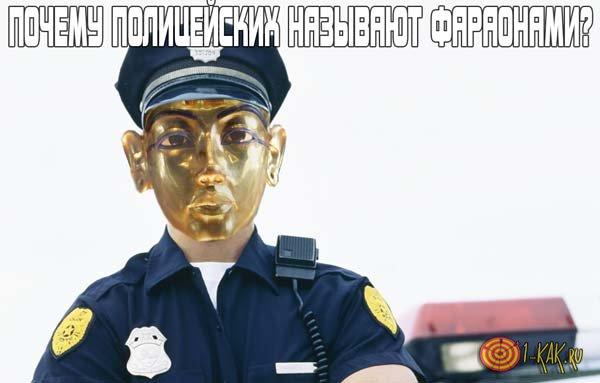Из-за чего полицейских называют фараонами?
