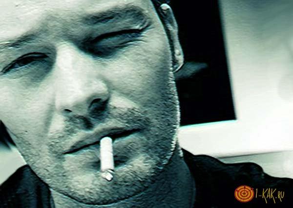 Нижнее веко дергается от курения