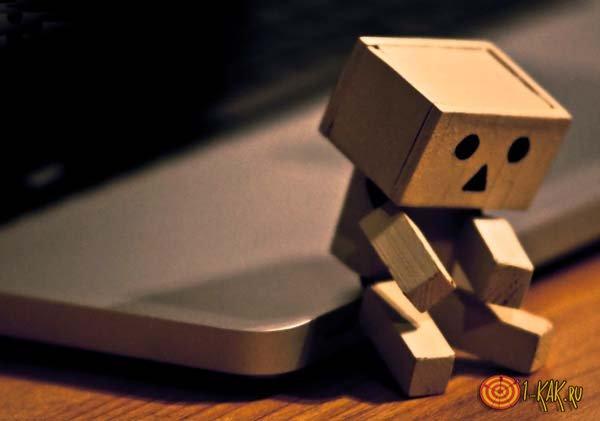 Бездарный робот опечален
