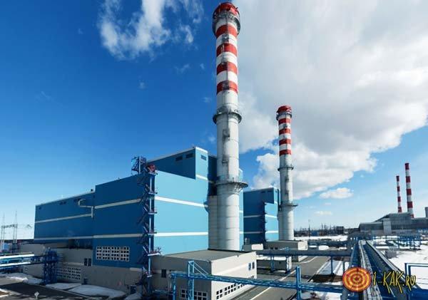 Электростанция в Сургуте вырабатывает ток