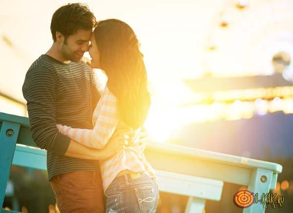 Приятные отношения с парнем
