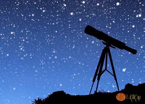 Созвездия и телескоп