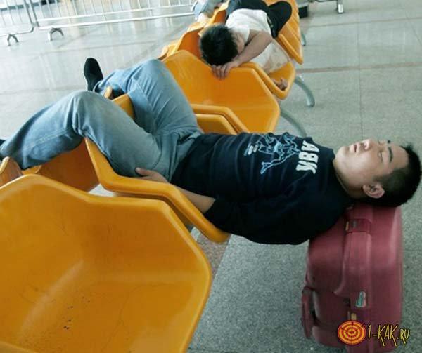 Сонный и вялый кореец