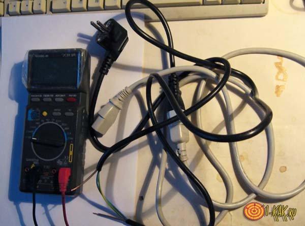 Эксперимент с измерением энергопотребления компьютера