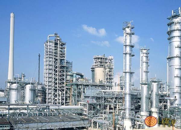 Нефтеперерабатывающий завод в Саранске