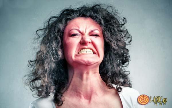Физиологический аффект у женщины