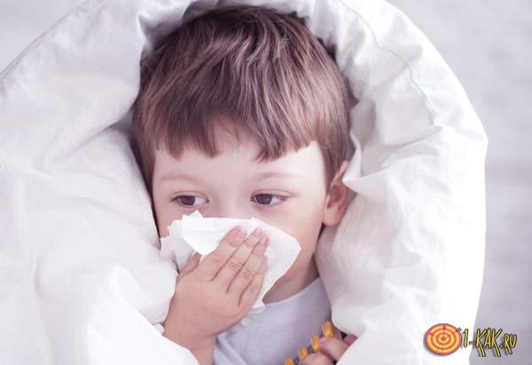 Ребенок начал чихать как не заболеть