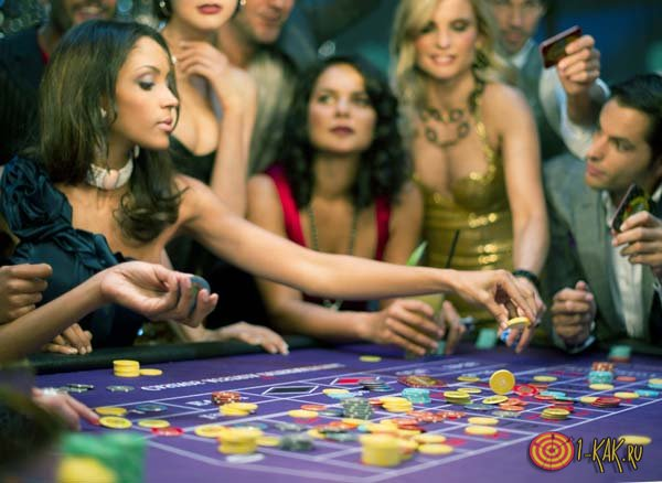 Азартные игроки в рулетку