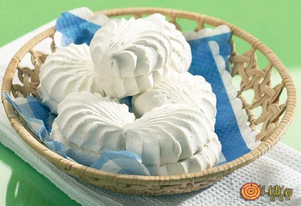 Классический белый зефир