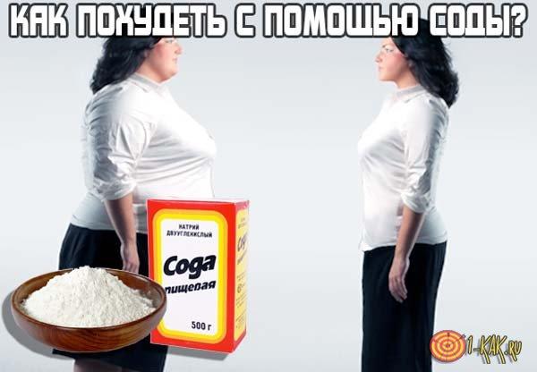 Как похудеть при помощи соды?
