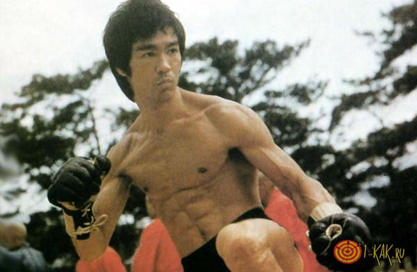 Тренировки Брюса Ли