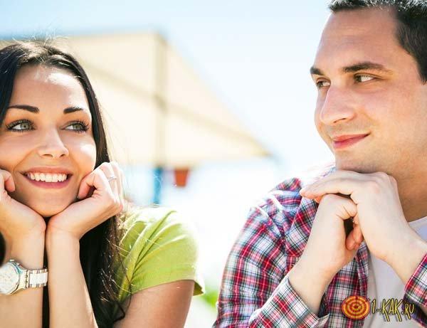 Самое первое свидание у мужчины и женщины