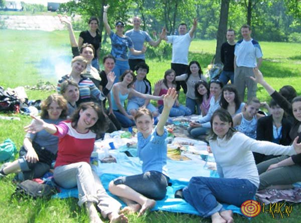 Летняя Вечеринка на природе
