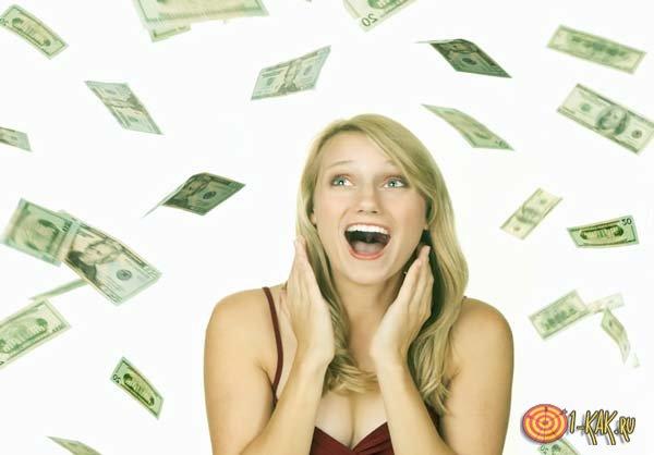 Она сама открыла свой денежный канал