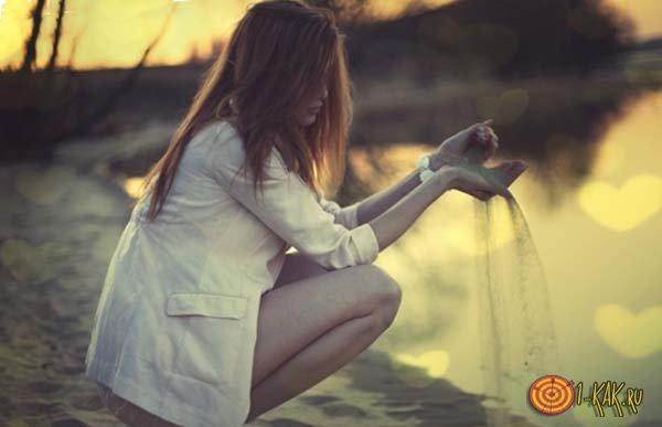 Девушка в печали - ее перестали любить