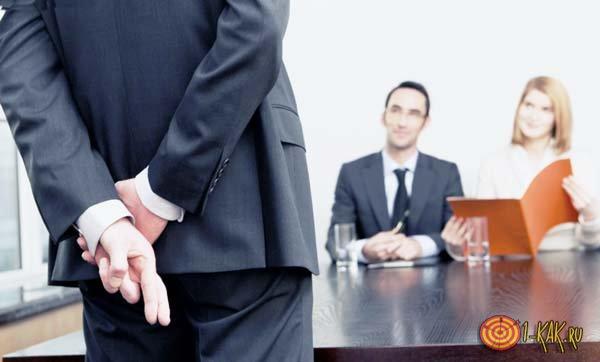 На собеседовании на менеджера