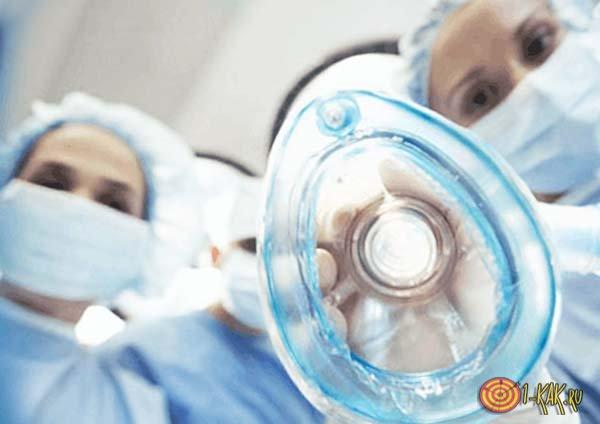 Анестезия перед реанимационными мероприятиями