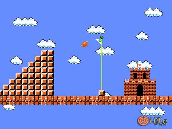 Игра прошлого века: Марио