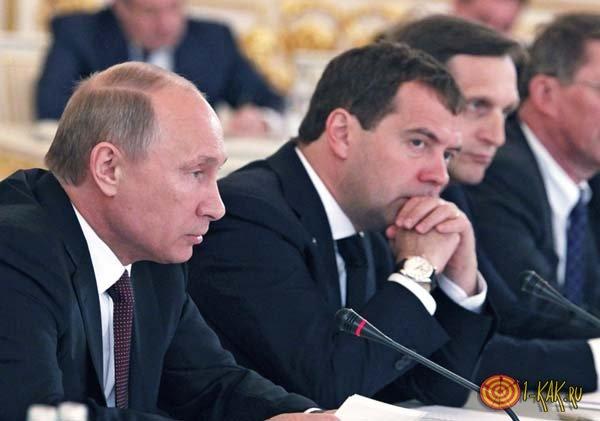 Президент и премьер обсуждают будущее России