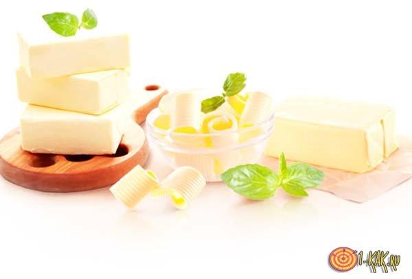 Молочные продукты с заменителем молочного жира