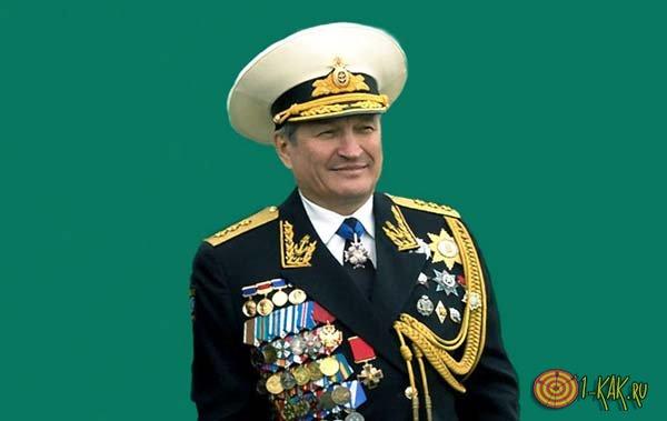 Погоны адмирала