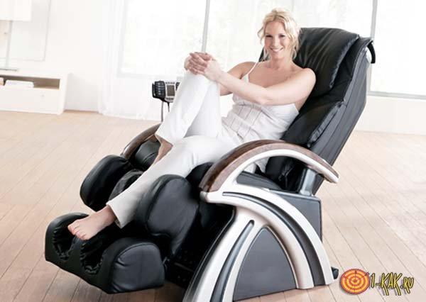 Качественное массажное кресло