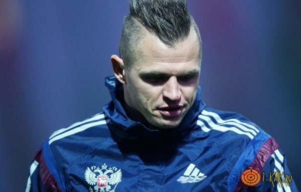 Дмитрий Тарасов на поле