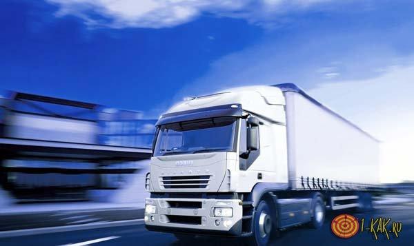 Перевозка грузов фурой