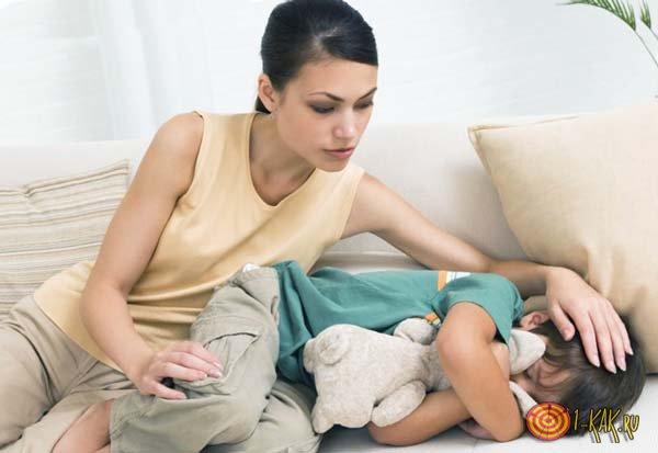 Признаки застоя желчи у ребенка