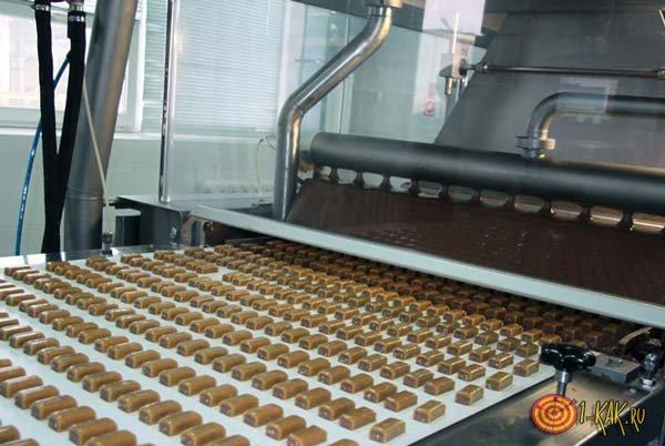 Завод по производству батончиков