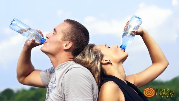 Полезная привычка пить воду