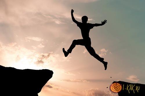 Отчаянный прыжок