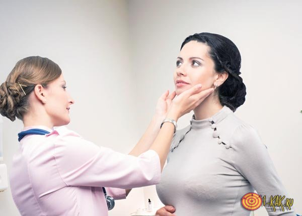Последствия в виде увеличения железы
