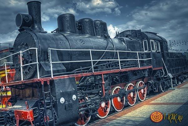 Литерный поезд - прибытие