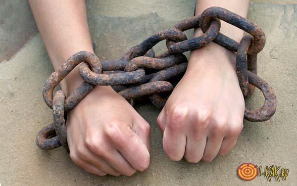 Психологическая зависимость от наркотиков - руки связаны