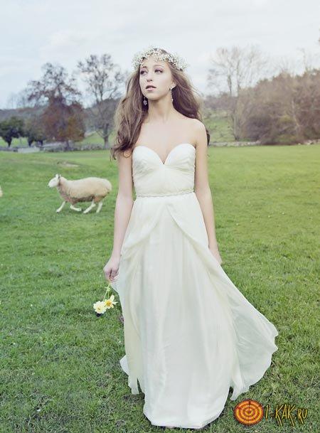 Платье невесты Rustic